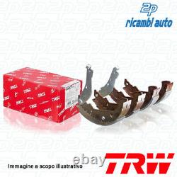 1 Trw Gsk1558 Set Axial Brake Jaws Rear Cabriolet City Coupe