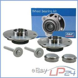 2x Skf Kit Bearing + Hub Wheel Front Smart Cabrio City-coupe Crossblade