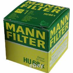 3xmann-filter 68 X - 3xliqui Moly / 3x Cera Tec