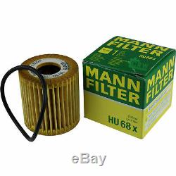 3xmann-filter-hu Ölfilter 68 X + 3xliqui Moly Pro-line Engine Flush / 3x