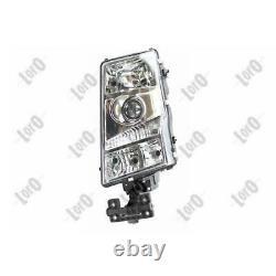 Abakus 052-21343-1525 Headlight Right No Engine Electric