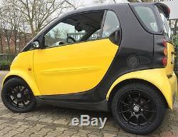 Alloy Black Smart Fortwo 450 Dbv Bali 15 '' Black Mat Enlargement