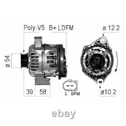 Alternator Eb581q 437737 Ax1337 Q 0 004 717 V0 06 Q 0 004 717 V0 05 Lra02901