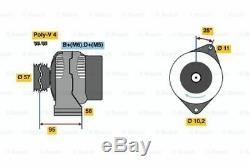Alternator For Smart City Coupe 450 M 160 E6al B04 Cabriolet 450 160 920 Bosch