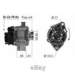 Alternator Smart Fortwo Convertible (450) 0.7 (450,452) 55kw 75cv 01/200401/07 Eb45