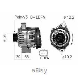Alternator Smart Fortwo Coupe (450) 0.8 CDI 450 300, 450 301, 450 302, 450.30