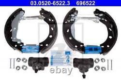 Ate 696522 Ate Original Topkit Brake Jaw Set For Smart