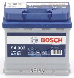 Bosch S4002 Car Battery 52a / H-470a