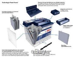 Bosch S4002 Car Battery 52a / H-470a Conktypes