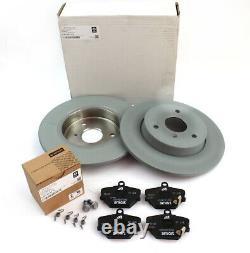 Brake Discs Front Kit Left Smart Fortwo Roadster 450