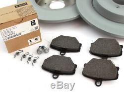 Brake Discs Pads Left Right Front Kit Smart Fortwo Roadster 450