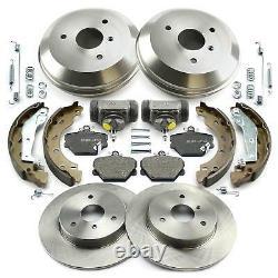 Brake Discs - Platebacks Before Drum Cook Cylindre Back Smart 450