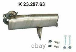 Catalytic Pot 23.297.63 Smart Fortwo Cabrio City-cut New