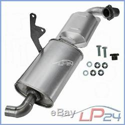 Catalytic Pot + Smart Assembly Kit For-two 04-07 Cabrio City-coupe 0.6 0.7