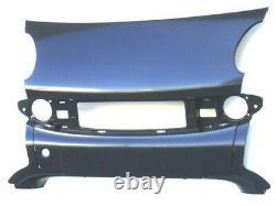 Central Premises Premises Pare-chocs Plate For Intelligent Fortwo 2002 To 2007 Cabriolet
