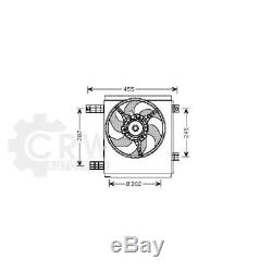 Cooling Fan Motor Smart City-coupe 450 Fortwo Coupe Cabriolet