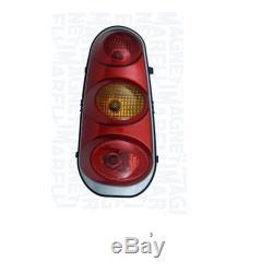 Headlight Left Rear For Smart Cabrio City Coupe 2002 To Orange