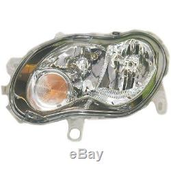 Headlight Set Smart Year Mfr. 98-02 Coupe Cabriolet Bosch H1 + H7 Incl. Lamps
