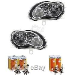 Headlights Kit Smart City-coupe Year Mfr. 07 / 98-02 / 07 H7 + H1 Incl. Philips Lamps