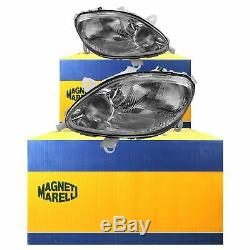 Headlights Kit (left And Right) Smart Year Mfr. 98-02 Coupe Cabriolet Bosch H4