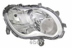 Headlights Smart City & Cabriolet 1998-2004 & Fortwo 450 1/2004-1/2007 Passenger