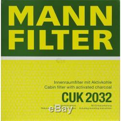 Inspection Set 5l Mercedes Oil 5w30 229.51 + Mann Filter 11104045