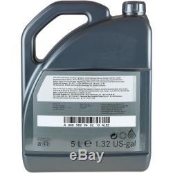 Inspection Set 5l Mercedes Oil 5w30 229.51 + Mann Filter 11104060
