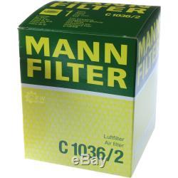 Inspection Set 5l Mercedes Oil 5w40 + 229.5 Mann Filter 11087548