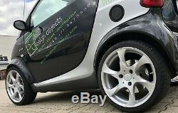Lorinser Speedy Game Wheels Full Smart Fortwo 450 Silver Lot Wheels 17 Inches