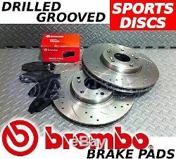 MCC Smart Fortwo Brabus & Perforated & Groove Brake Discs & Pads Brembo