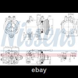 New Air Conditioning Compressor Nissens 89163