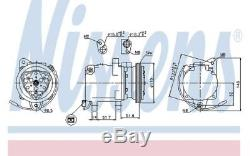 Nissens Air Conditioning Compressor 89163 For Smart City-coupe Cabrio