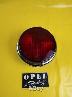 Opel Mercedes Ponton Borgward Spoiler Tail Light Fog Chrome Bosch