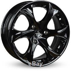 Rims Alloy Alloy MCC Smart Fortwo 450 15 Inches Keskin Kt9 Smartie Black
