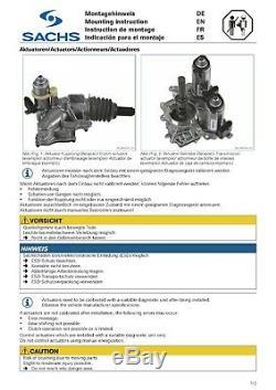 Sachs Cylinder Em Receiver Clutch Actuator Smart Cabriolet City Coupe 450