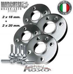 Set 4 Track Extenders Wheels 16 - 20 MM Intelligent Fortwo 450 451 452