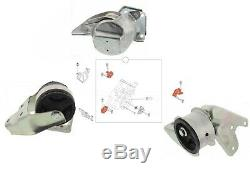 Set Engine Mounts For Smart Cabrio, City-coupe, Crossblade, Fortwo, Biking