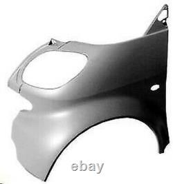 Side Fender Avant Sx For Intelligent Fortwo 1998 Au 2002 (no Cabriolet)