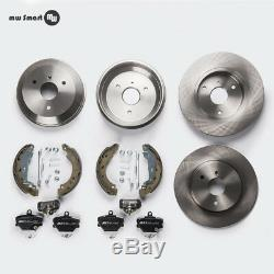 Smart 450 Brakes Brake Discs + + Lot Drum Rear Front Attachment