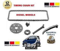 Smart Fortwo Coupe Cabriolet 450 451 0.8 CDI Diesel 1999- Nine Chain Kit