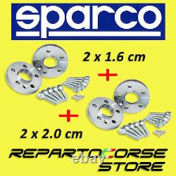 Sparco Track Extenders 16mm+20mm Smart Fortwo 450/451 Brabus