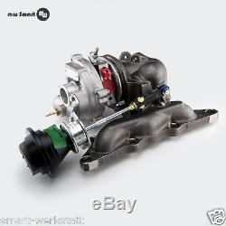Turbo Smart Turbocharger With Exhaust Manifold
