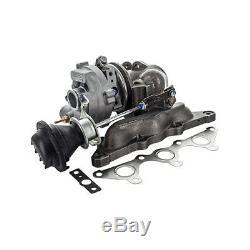 Turbocharger Smart Cabrio 0.7 (450 414) 55kw 75hp 01/200301/04 Km6900009 V1