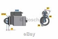 1 Bosch Démarreur Cabriolet City-Coupe Crossblade Fortwo Coupé Roadster