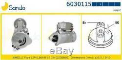 1 SANDO 6030115.1 Vélomoteur davviamento ORIGINALE SERIES CABRIO CITY-COUPE