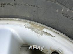 4x roues complètes pneus d'été 225/75R16 5X112 7.4-8.0mm Mercedes ML230 W163