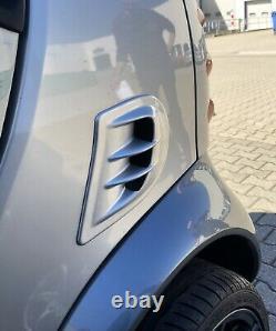 Airscoope Entrée D'Air Turbo Smart Fortwo 450 Coupé Cabriolet Argent Nouveau