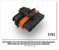 Dte Système Pedal Box 3S pour Smart Fortwo 450 1998-2007 0.6L R3 52KW Gaspedal