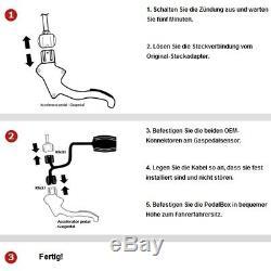 Dte Système Pedal Box 3S pour Smart Fortwo 450 1998-2007 0.7L R3 45KW Gaspedal