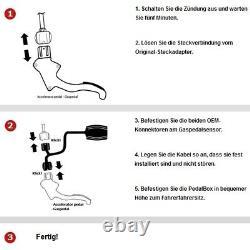 Dte Système Pedal Box 3S pour Smart Fortwo 451 à Partir De 2007 0.8L CDI R3 33KW